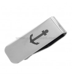 MONEY CLIPS WITH STILL IN STEEL 52X18 MM
