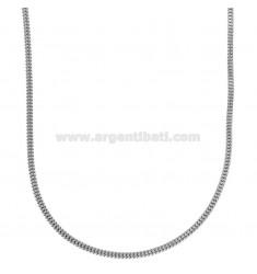 SQUARE BARREL GAS TUBE CHAIN MM 2 IN DIAMOND STEEL 60 CM