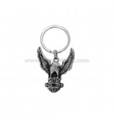 KEYCHAIN ??ACQUILA MOTOR ETHNIC LINE IN BRUNITO STEEL