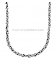 SPECIAL STEEL NECKLACE TYPE MARINE TYPE 5 MM MM 50