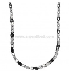 SPECIAL CHAIN ??TWO-TONE CHAIN ??MM 3.5X3.5 CM 60