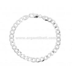 Armband SWEATER GRUMETTE MM 6X2 Silber 925 ‰ CM 20