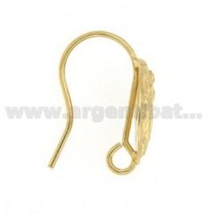 ANGRIFFE Ohrringe mit vergoldet im SHAPE DEA 925