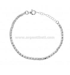 Armband mit Pfeffer in Silber Rhodium TIT 925 CM 17-20