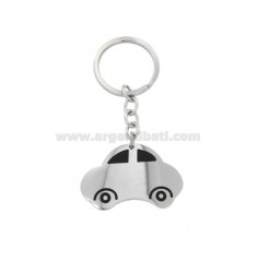 KEYRING WITH ENAMELLED STEEL MACHINE