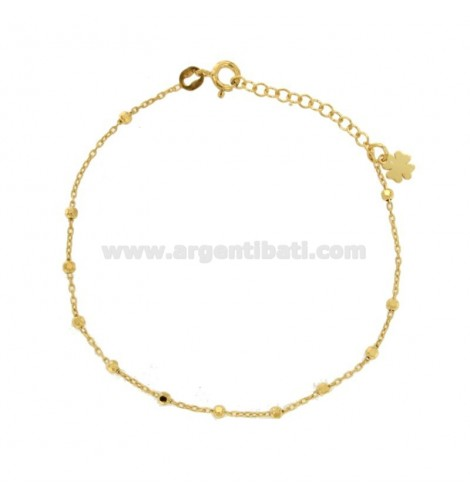 collana donna snake con sfere rodiate rosè e dorate in argento 925