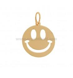 SMILE PENDANT 20 MM SILVER ROSE TIT 925 ‰