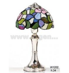 LAMPADA TIFFANY H. CM 34 IN AG TIT. 925‰