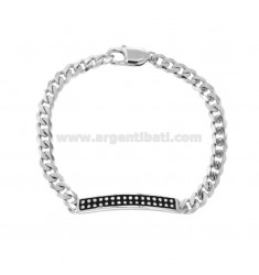 ARMBAND ARMBAND IN SILBER RHODIUM TIT 925 CM 21