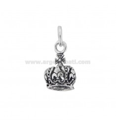 PENDANT CROWN 20X13 MM SILVER BRUNITO TIT 800