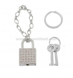 KEY RING PINK MAXISTRASS PINK