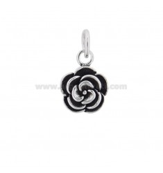 PENDANT FLOWER 15 MM SILVER BRUNITO TIT 800