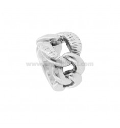 GROUMETTE RING IN BRUNITO SILVER TIT 925 ASSORTED MEASURES