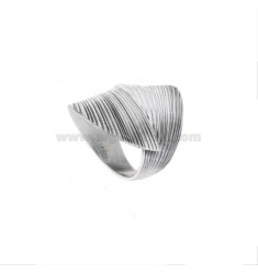 BAND RING IN BRUNITO SILVER TIT 925 ASSORTED MEASURES