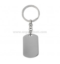KEY RING WITH MILITARY MEDAL MM 40X24 IN STEEL