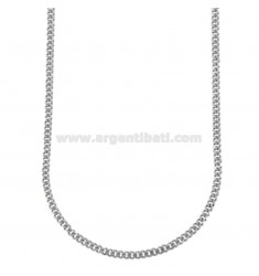 CURTAIN CHAIN MM 3 CM 60 IN SILVER RHODIUM 925 ‰