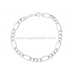 EMPTY MESH BRACELET 3 1 MM 6.3 IN SILVER TIT 925 ‰ CM 21