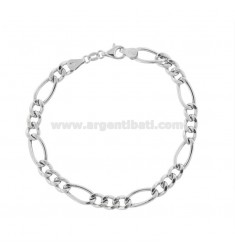 EMPTY MESH BRACELET 3 1 MM 6.3 IN SILVER RHODIUM TIT 925 ‰ CM 21