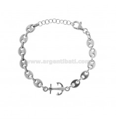 MARINA MESH BRACELET AND STILL IN BRUNITO SILVER TIT 925 CM 17-20