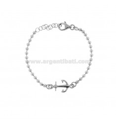 BALL BRACELET WITH STILL BRUNITO SILVER TIT 925 CM 17-20