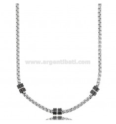 CHAIN CM 50-55 IN TWO-TONE STEEL