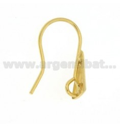 ATTACKS IN TRIANGLE SHAPE EARRINGS WITH GOLD PLATED 925