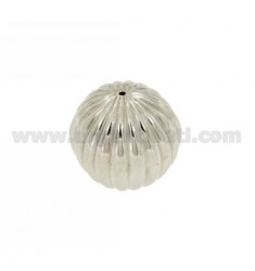DISTANCE STRIPED BALL 20 MM IN AG TIT RHODIUM 925
