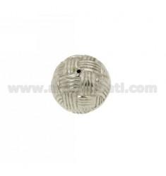 DISTANCE BALL BALL 18 MM IN AG TIT RHODIUM 925