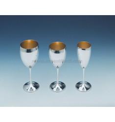WATER GOBLET H.CM 18.5 IN TIT AG.800