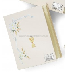 COMMUNION ALBUM C / rectangle CM 20X25 C / DIARY ARG.
