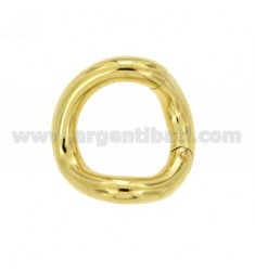 SUSTA INTELLIGENT ROUND SHAPED BARREL MM 28 MM 5 AG IN GOLD PLATED TIT 925 ‰