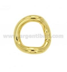 SUSTA INTELLIGENTE rund geformt FASS mm 28 mm 5 AG in vergoldetem TIT 925 ‰